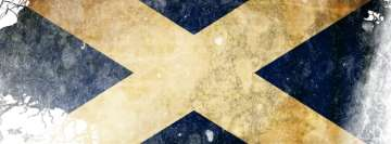 Flag of Scotland Facebook Wall Image