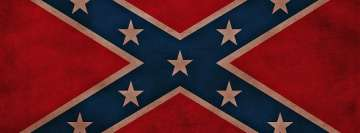 Flag of The Confederate States of America Facebook Banner