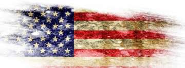 Flag of United States of America Facebook Wall Image
