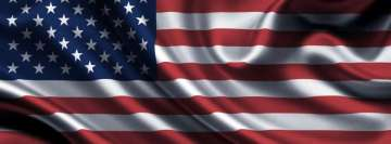Flag of United States of America Graphical Artwork Facebook Wall Image