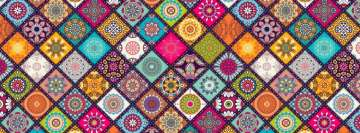 Floral Pattern Facebook cover photo
