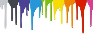 Flowing Paint Facebook Cover