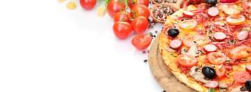 Food Delicious Pizza Facebook Cover