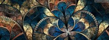 Fractal Cool Artwork Facebook cover photo