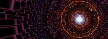 Fractal Circles Facebook Cover Photo