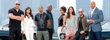 Furious 7 Dwayne Johnson Jason Statham Vin Diesel