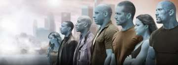 Furious 7 Facebook Colored Facebook Cover Photo