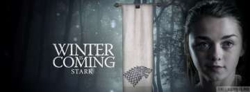 Game of Thrones Aria Stark Maisie Williams Facebook Background TimeLine Cover