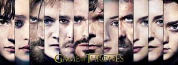 Game of Thrones Characters Fb Cover