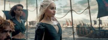 Game of Thrones Daenerys Targaryen Emilia Clarke Facebook Banner