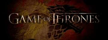 Game of Thrones Title Facebook Banner