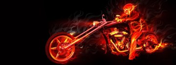 Ghost Rider Facebook cover photo