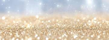 Girly Glitter Facebook Wall Image