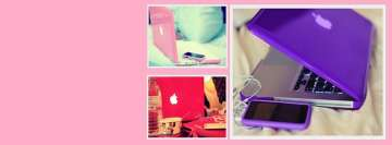 Girly Laptops Facebook Cover