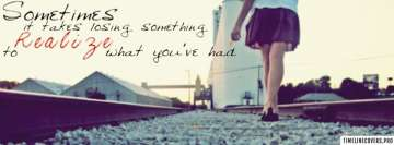 Girly Quote Facebook Cover Photo
