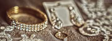 Gold and Diamond Jewelry Facebook Banner