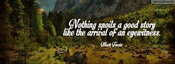 Good Story Eyewitness Mark Twain Facebook cover photo