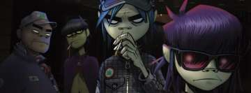 Gorillaz Facebook Cover