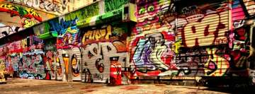Graffiti All Over The Place Facebook Background TimeLine Cover