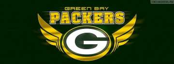 Green Bay Packers Logo Facebook cover photo