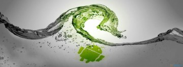 Green Water and Android Fb Cover