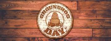 Groundhog Day Logo Fb Cover
