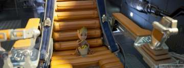 Guardians of The Galaxy 2 Groot Eating Candies Facebook Cover Photo
