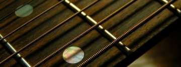 Guitar Closeup Facebook Wall Image