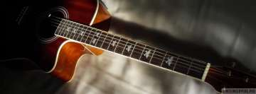 Guitar in Sunlight Facebook cover photo