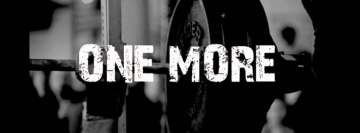 Gym One More Facebook Banner