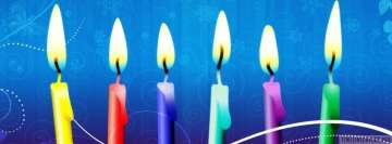 Happy Birthday Candles Facebook Background TimeLine Cover