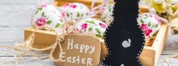 Happy Easter Wish Facebook cover photo