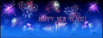 Happy New Year Blue