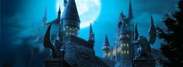 Harry Potter Hogwarts Castle Facebook Banner