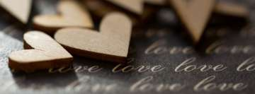 Hearts Love Love Love Macro Facebook Cover-ups