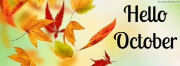 Hello October Facebook Cover-ups