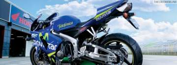 Honda Cbr 600rr Movistar Facebook Wall Image
