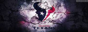 Houston Texans Grunged Logo
