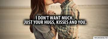 Hugs Kisses and You Facebook Cover-ups