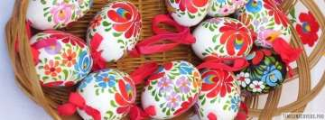 Hungarian Easter Eggs Facebook Background TimeLine Cover