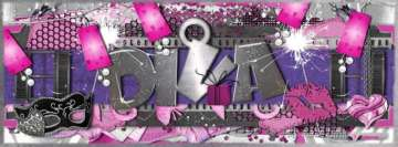 I am a Diva Girly Facebook Background