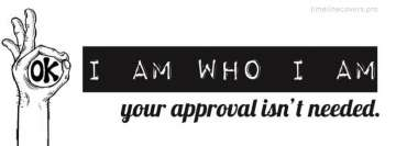 I am Who I Am Fb Cover