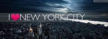 I Love New York City Facebook Background TimeLine Cover
