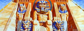 Iron Maiden Powerslave Facebook Wall Image