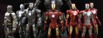 Iron Man Figurines Facebook Banner