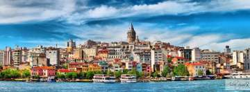 Istanbul View Facebook cover photo