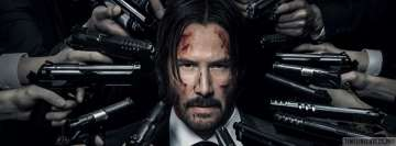 John Wick Chapter 2 Facebook cover photo