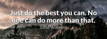 John Wooden Motivational Quote