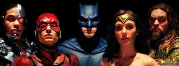 Justice League Aquaman Batman Cyborg Flash Wonder Woman Facebook cover photo