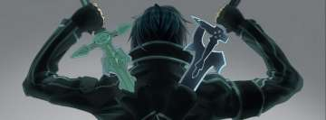 Kirito Sword Art Online Facebook Background TimeLine Cover